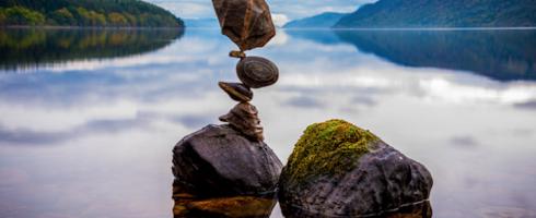 la recherche de l'équilibre