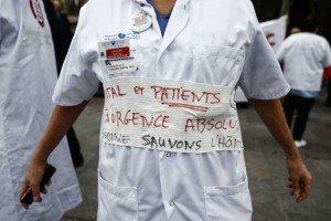 FRANCE-HEALTH-HOSPITAL-DEMO
