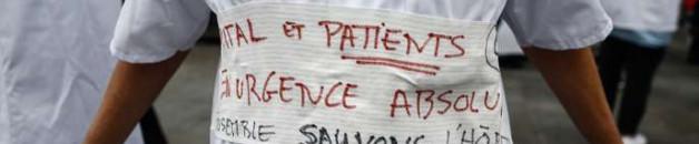 l'hôpital public s'écroule…