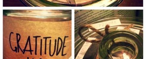 je profite des petits plaisirs de la vie – le pot de gratitude