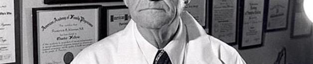 Un des pionniers de la vitamine C… le Dr KLENNER Frederick